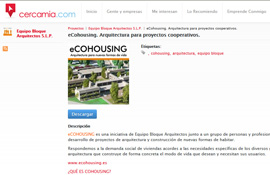eCOHOUSING in Cercamia Exchanges