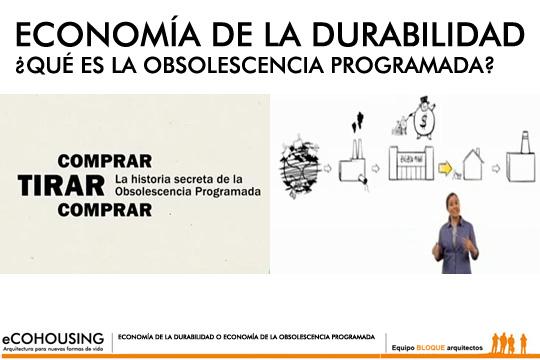 (Español) Economía de la durabilidad. Obsolescencia programada