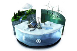 Cooperatives producing electricity with renewable energies. A necessary alternative