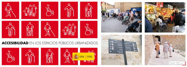 Publication 'Accesibility in urbanizes public spaces'