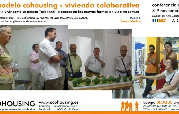 eCOHOUSING – Equipo Bloque Arquitectos Conference and workshop in the Museum of Contemporary Art A Coruña MAC