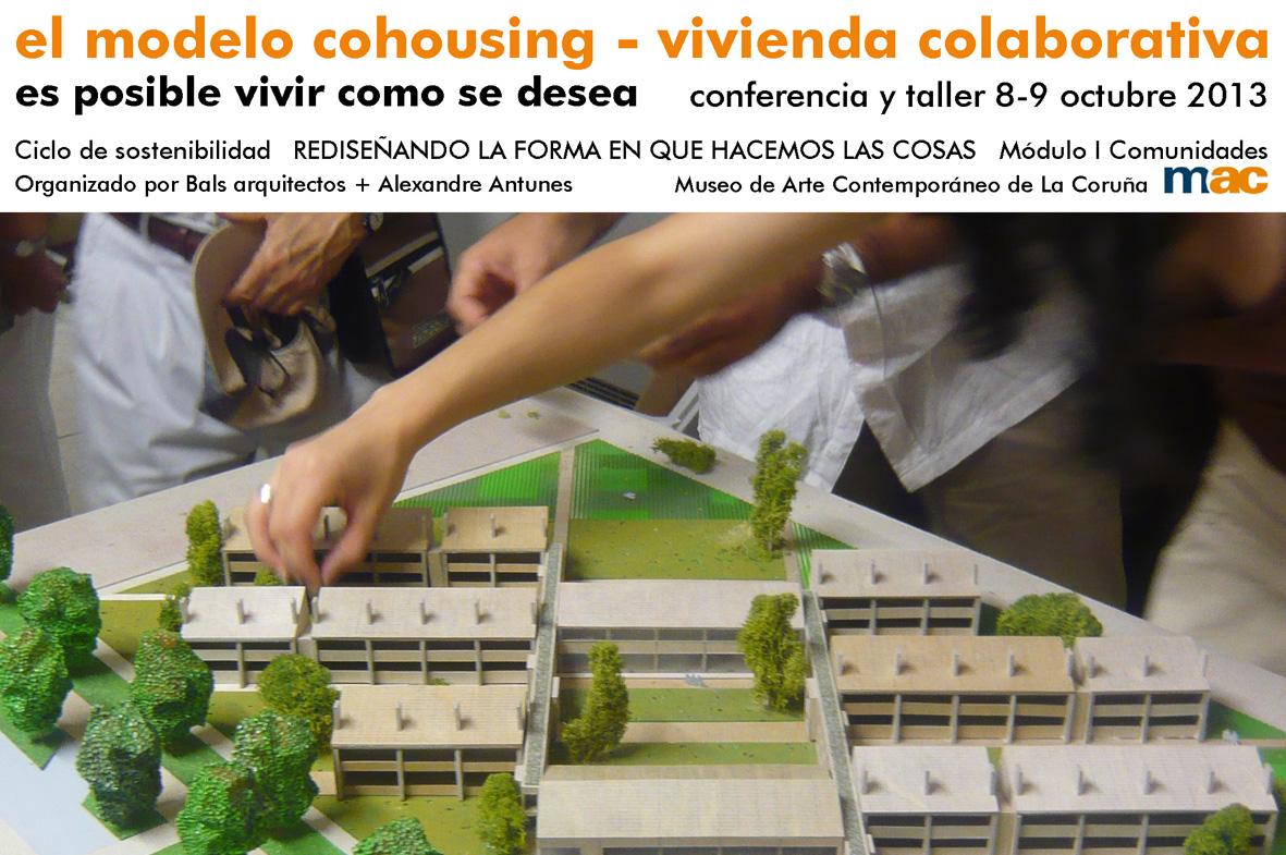 CONFERENCIA Y TALLER - EL MODELO COHOUSING - A Coruña 08 y 09 Noviembre 2013_noticia