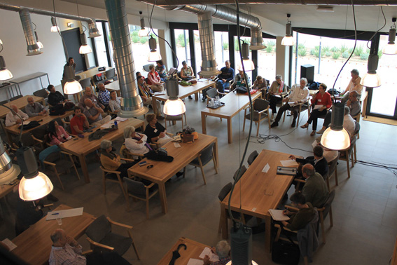 Meeting of cohousing groups in Trabensol Centre