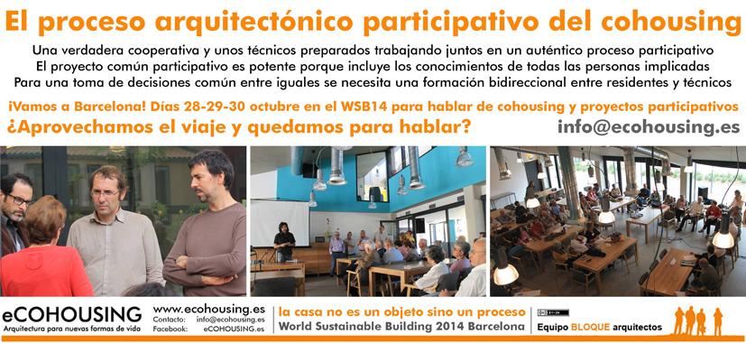 Proceso participativo del cohousing Proyecto de arquitectura