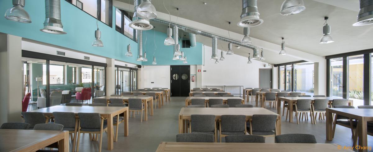 Arquitectura cohousing - Sala multiusos comedor Trabensol