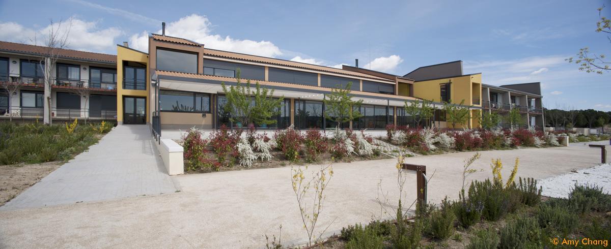Arquitectura cohousing - Terraza sur Trabensol