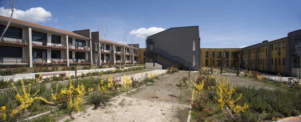 Arquitectura cohousing - Jardines Trabensol
