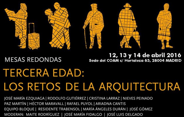 Senior Citizens Conferences: Challenges of Architecture | eCOHOUSING Equipo Bloque Arquitectos in the Housing Round Table