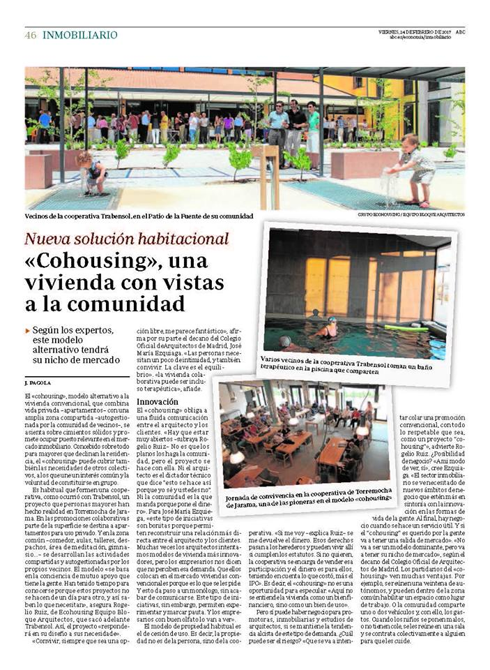 cohousing sector inmobiliario ABC