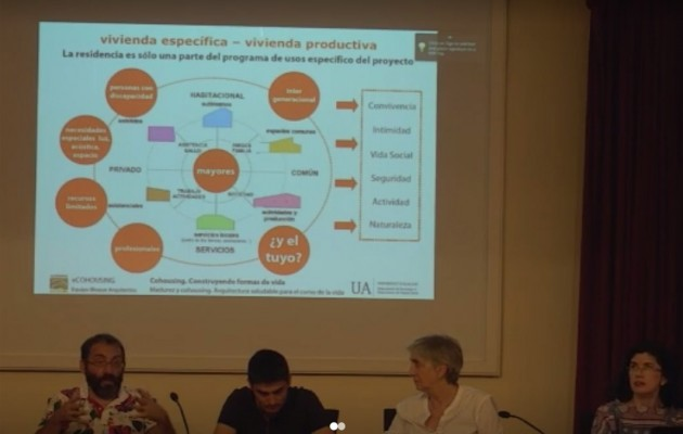 (Español) Jornada Madurez y Cohousing Construyendo alternativas