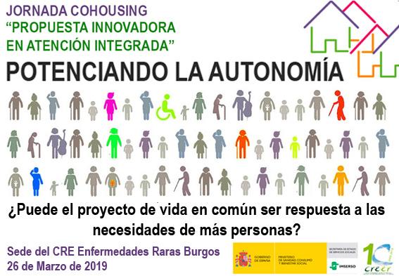(Español) Jornada cohousing CREER Burgos | Potenciando la autonomía
