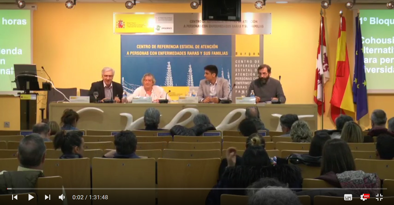 eCOHOUSING Jornada Cohousing CREER Burgos - Potenciando la autonomía - Video