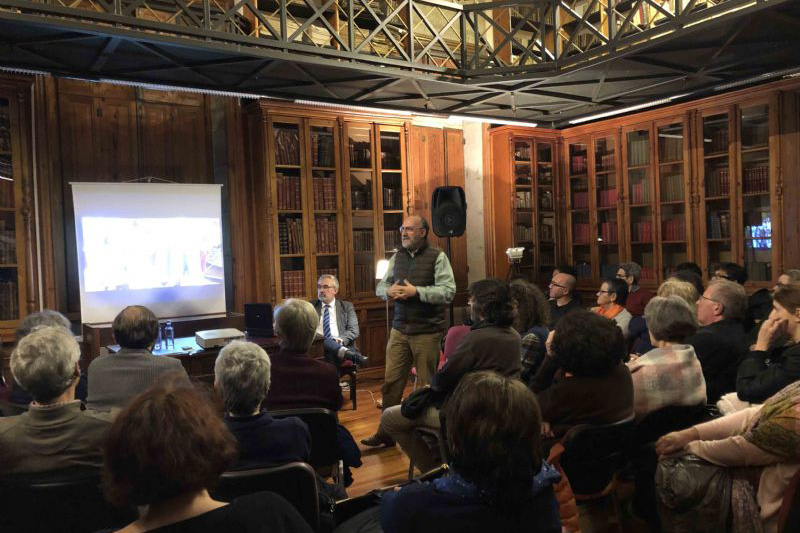 Intervención de Javier Álvarez Souto. Foto © EM Entremayores