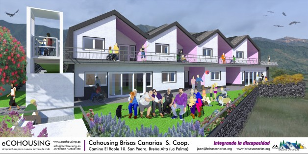 Inclusive Cohousing Brisas Canarias. Collaborative Housing for everyone